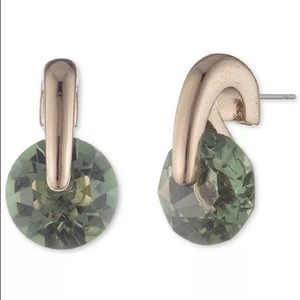 Givenchy Gold-tone and CZ Stud Earring